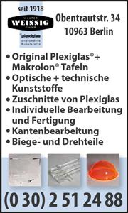 Plexiglas Berlin plexiglasverarbeitung berliner